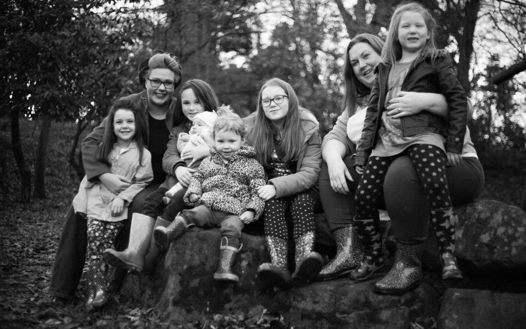 The Gallagher's Winter Family Photoshoot – Southport, Botanical Gardens