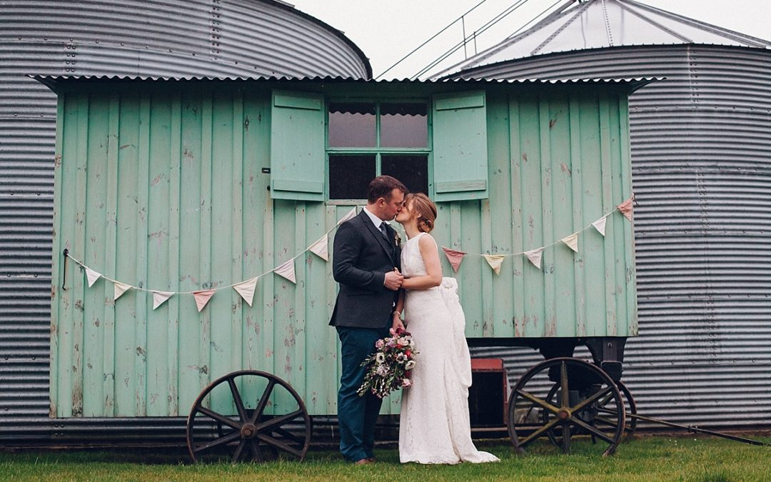 Becky & Dan's Winter Cotswold Wedding- Merriscourt Barn