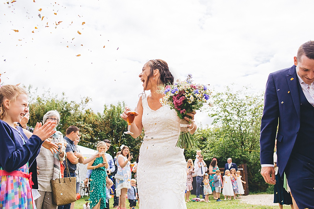 Elinos & Steven's Evfest – Alternative Festival Farm wedding – Carmarthenshire – South West Wales